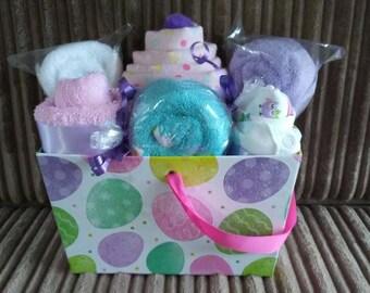 Gift Basket, Baby Gift Basket, Hospital Gift, Baby Shower Gift, Baby Gift
