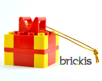 LEGO® balls Angel ornament for Christmas for the Xmas tree made with LEGO® bricks