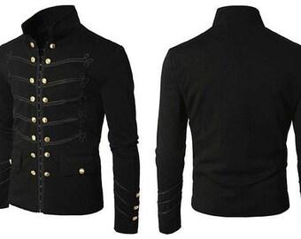 NAPOLEON JACKET, Vintage Napoleon Braiding Jacket, Military Napoleon Jacket