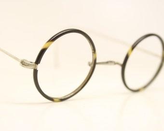 Antique Round Small Windsor Style Eyeglasses