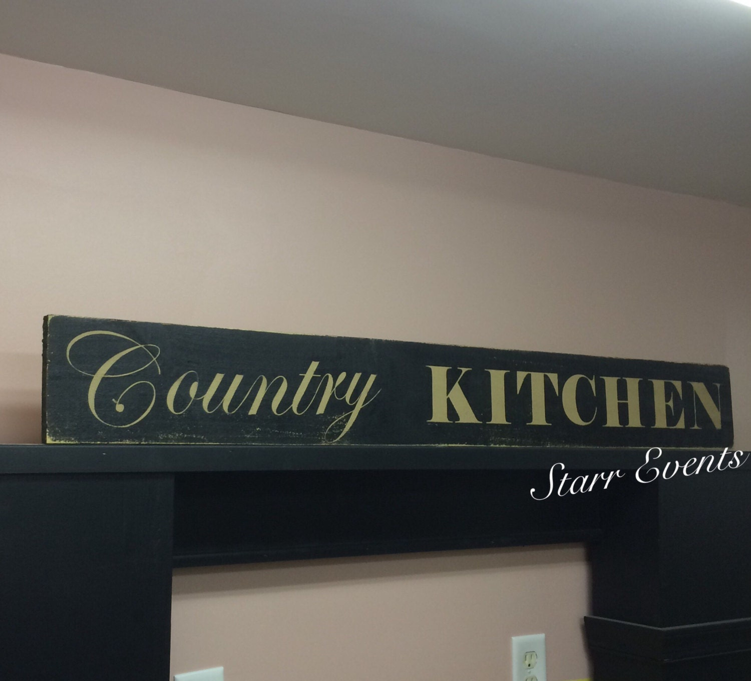 Country Kitchen Sign. Rustic Kitchen Sign. Country Signs