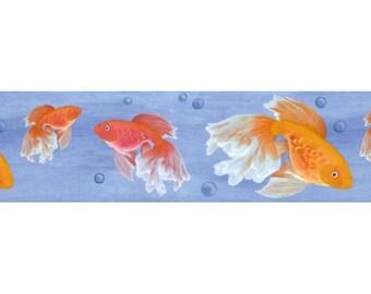 Fish B61006 Wallpaper Border