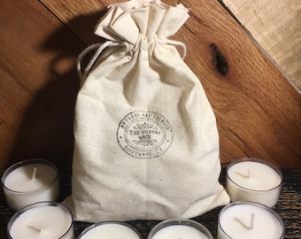Tea lights -Soy Tea Lights-Stocking Stuffer Gifts- Candle Gifts