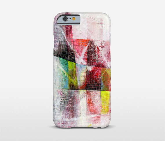 Red Phone Case, Abstract Art, iPhone Case, iPhone 6S Case, Abstract Phone Case, iPhone 7 Case