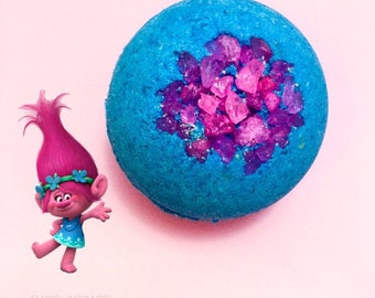 Poppy Trolls Bath Bomb, bath bombs for kids, kids bath bombs, bath bombs trolls, bath fizzie, trolls bath bomb, bath bomb, trolls, kids bath