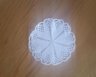 Hand Crocheted Small Doily