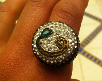 Bulky Rings and Pendant (Sparkling Stones). Buy Individually or ALL