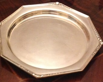 Simpson Hall Miller & Co EP Octagonal 10 Inch Tray