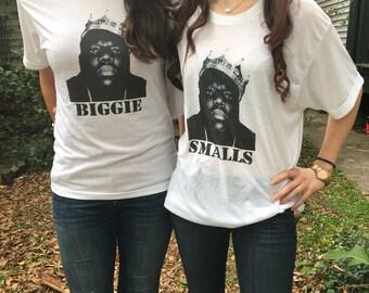Biggie Smalls Big/Little Sorority Shirts