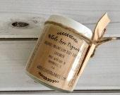 Organic Magnesium Body Butter - Vegan Lotion - Whipped Body Butter - Magnesium Lotion - Dry Skin - Vegan Body Butter - Essential Oils