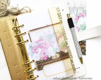 Vellum Dashboards / Ring Planners / Planner Dashboards : Fashionista
