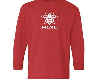 Bee Mine Valentine Shirt