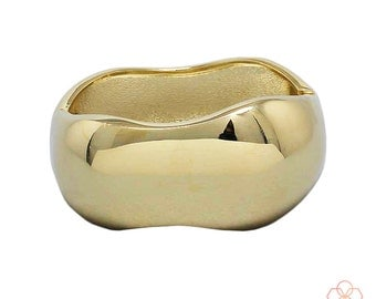 Bracelet for Fitbit Flex and Flex 2 Fitness Activity Trackers -THE PALOMA Bangle Bracelet In Gold For Small/ Medium Wrists -Free Shipping!