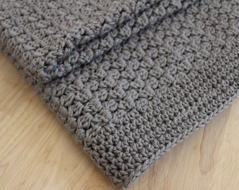 PATTERN - Easy crochet baby blanket pattern