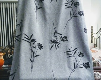 Vintage 35th and 10th  Heather Gray Skirt
