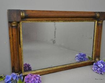 Regency Style Overmantle Mirror