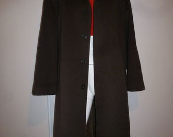 pure coat wool vintage