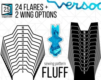 "2.5"" FLUFF Ears + Tail 
