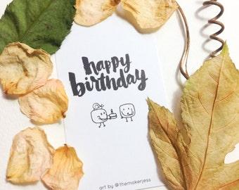 Happy Birthday Mini Bookmark (Pack of 10)