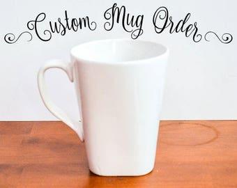 Custom Mugs for Uriel Grey