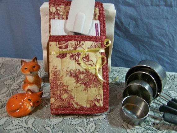 Victorian Christmas Pot holder Gift Set