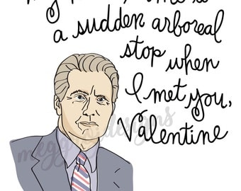 Printable Valentine: The West Wing