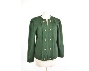 Pine Green vintage vest