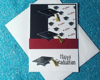 Graduation card and envelope