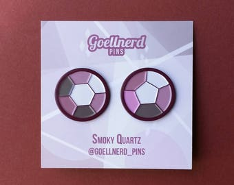 Steven Universe Smoky Quartz Gem Pins Soft Enamel Pins Crystal Gems Fusion Best Friends Pins