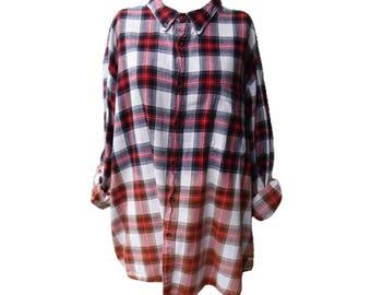 Bleached Flannel – Men's 3XL