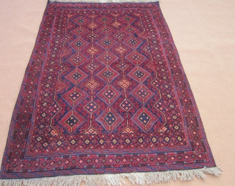 Size:6.8 ft by 4.7 ft Handmade Kilim/Carpet Afghan Tribal Mishwani Rug/Kilim