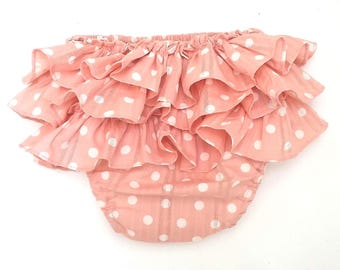 baby ruffle pants. baby bloomers. Diaper covers.