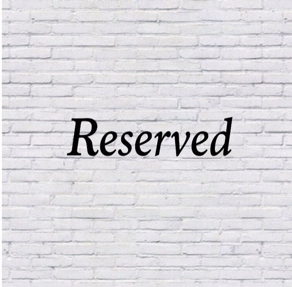 Reserved for starshineplanets