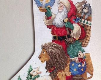 Santa's Animal Parade Stocking