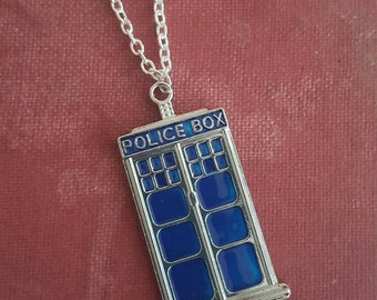 Doctor Who pendant necklace