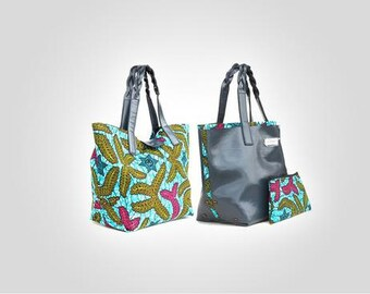 Reversible Handbag with Pouch