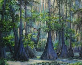Blue Trees /Голубые деревья