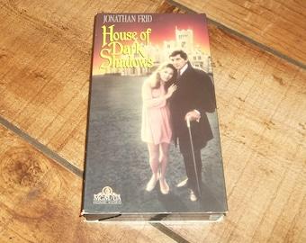 House of DARK SHADOWS Vhs  Horror Movie Video Vintage, Satan, Satanic Vampire Barnabas Collins