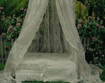 Newborn bed pop, canopy prop, blanket prop, rustic bed prop