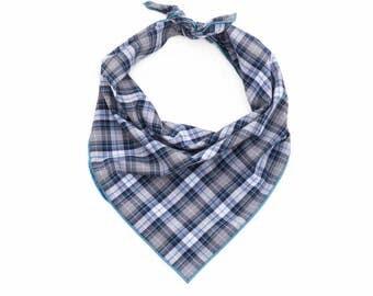 Aspen Plaid Dog Bandana - Tie On Dog Bandana