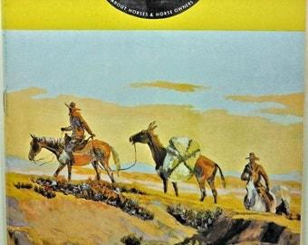 Horse Lover's Magazine November-December, 1967 Magazine!
