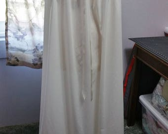 Cotton Nightgown - Blend of old and new Victorian-type Heirloom floor length - ready to go now