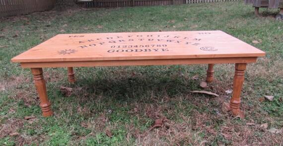 ouija board coffee table custom made ouija board spirit