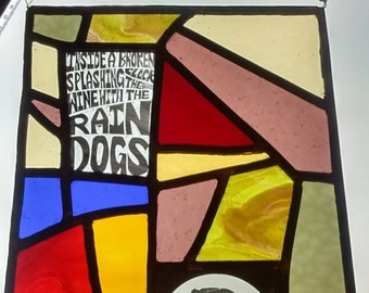 Raindogs - Tom Waits, Stained Glass window