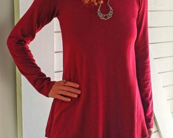 Iris Top, Long Sleeve, Hemp and Organic Cotton