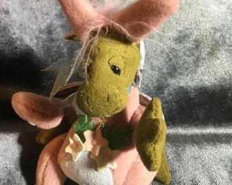 Deb Canham's Dragon in Bunny Suit
