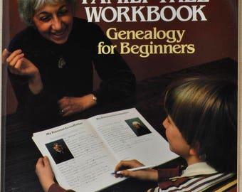 My Family Tree Workbook, Genealogy for Beginners by Rosemary A Chorzempa