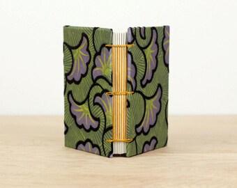 Mini Notebook· Small Sketchbook· Ginkgo Leaves· A7· Pocket Journal· Handmade Book· Art Journal· Watercolor Sketchbook· Lay Flat Notebook