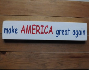 Make America Great Again country sign decor,made in the USA,wall hanging