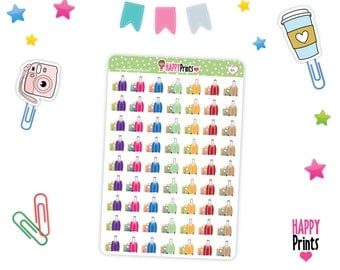 HP 166) -- Travel Luggage Planner Stickers